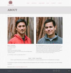 AmaraPhoto.com About page